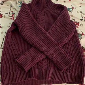 "🍋lululemon ""bring the cozy turtleneck"" sweater..."